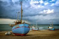 Fishing Boats on Shore