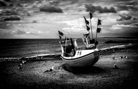 North Sea Fishing Boat