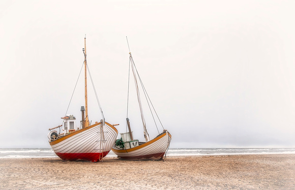 Boats on Shore